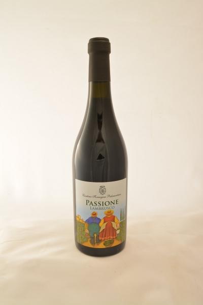 Passione Lambrusco Grasparossa Vino Frizzante Secco BIO DOC